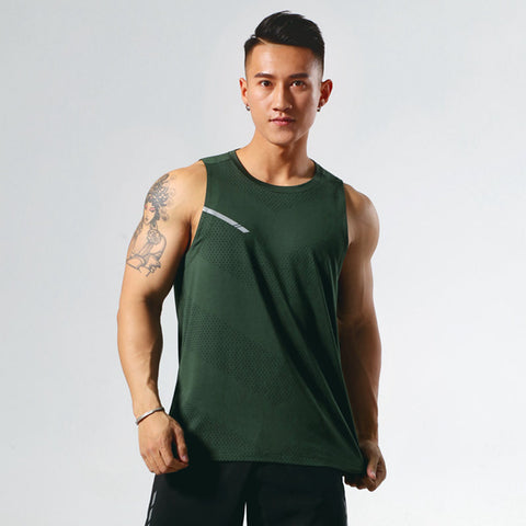 Large size sleeveless vest _ production summer sportswear