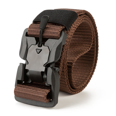 Tactical belt _2020 new magnetic buckle tactical belt