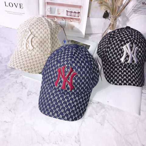 Korean version of baseball caps_full printed baseball caps