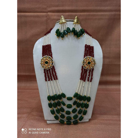 Muktinath Ethnic Beads Necklace Set For Women 015