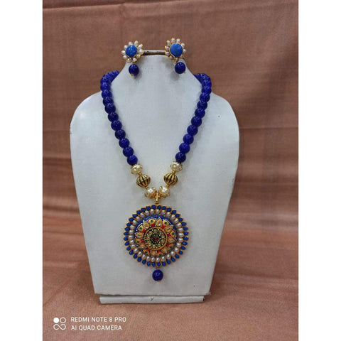 Muktinath Ethnic Beads Necklace Set For Women 017