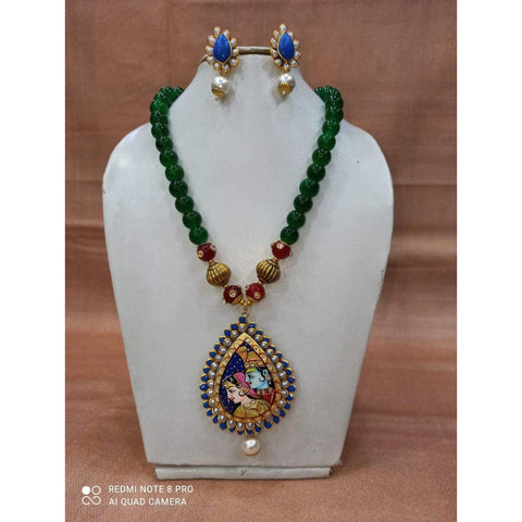 Muktinath Ethnic Beads Necklace Set For Women 018