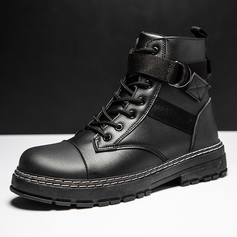 2020 autumn new Martin boots high top trend leather boots