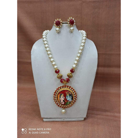 Muktinath Ethnic Beads Necklace Set For Women 019