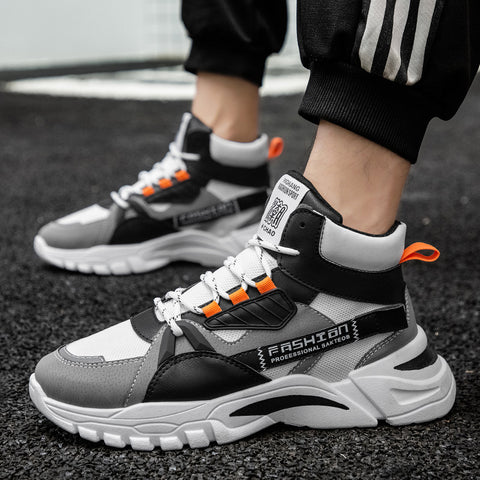 Sneakers 2020 hot style running sneakers breathable men's