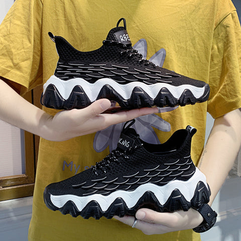 Summer new breathable men's shoes Korean fashion trendy