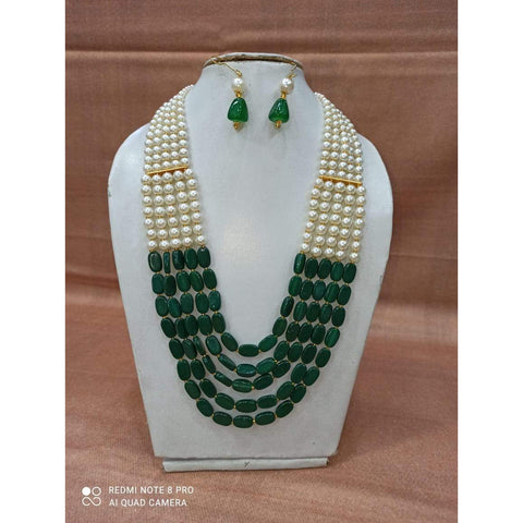 Muktinath Ethnic Beads Necklace Set For Women 03