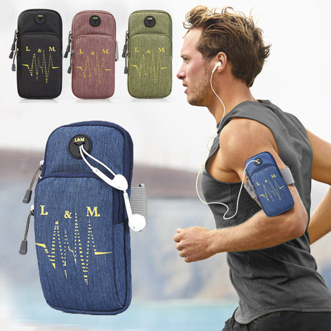 CHINA SALE-   Sports arm bag_running mobile phone men and