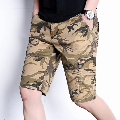 Men's camouflage shorts _ wholesale men's camouflage