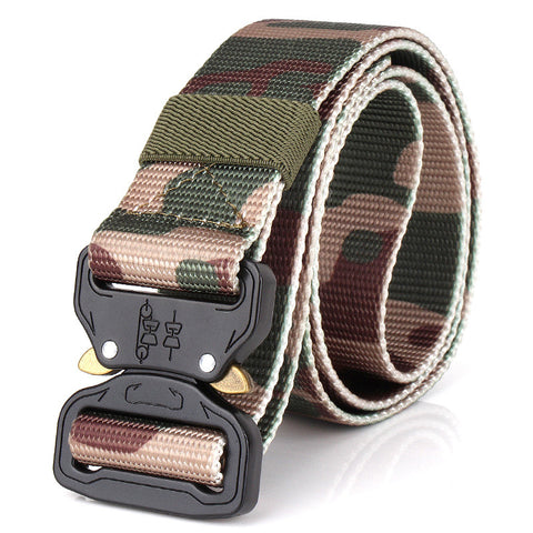 Tactical belt_Wholesale outdoor tactical camouflage belt