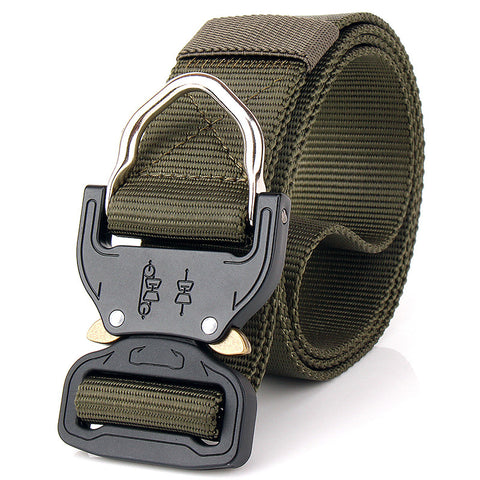 Tactical belt multifunctional rappelling special forces