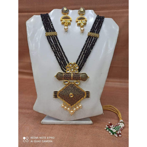 Muktinath Ethnic Beads Necklace Set For Women 07