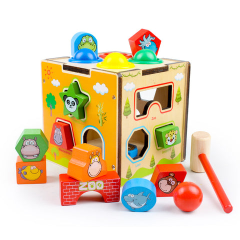 Educational toys_Baby early childhood education shape