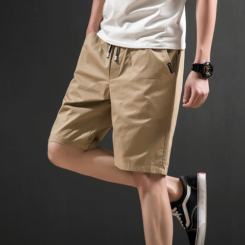 Men's casual shorts_summer men's casual shorts cotton