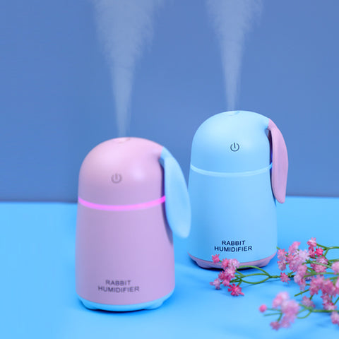 Creative gifts_Meng Chong rabbit humidifier mini car usb