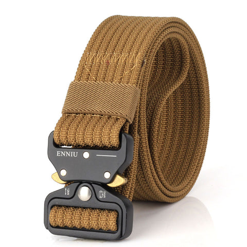 ENNIU 3.8cm new quick release buckle casual outdoor tide