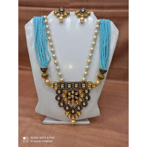Muktinath Ethnic Beads Necklace Set For Women 09