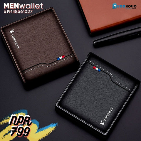 CHINA SALE-   Boy's new men's wallet, multi-function,