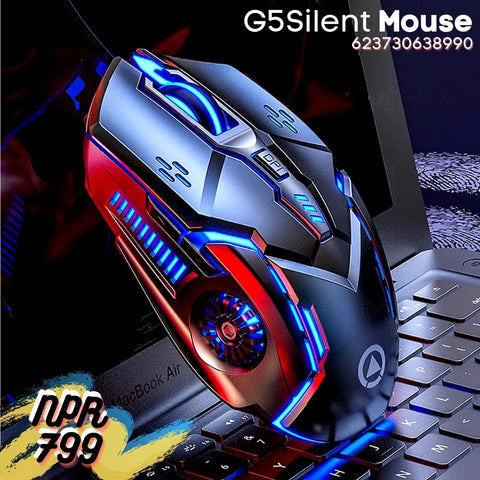 CHINA SALE-   Silver Eagle G5 silent silent wired mouse