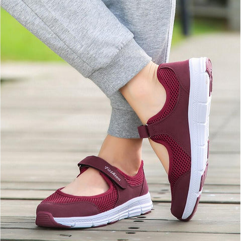 Sports Shoes Summer breathable Women's Walking Shoes