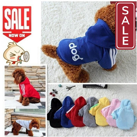 Soft Cotton Clothes For Dog-Pet Supplies on Sale-tudoholic.com