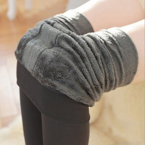 Step On Foot Thick Pearl Fleece Winter Plus Velvet