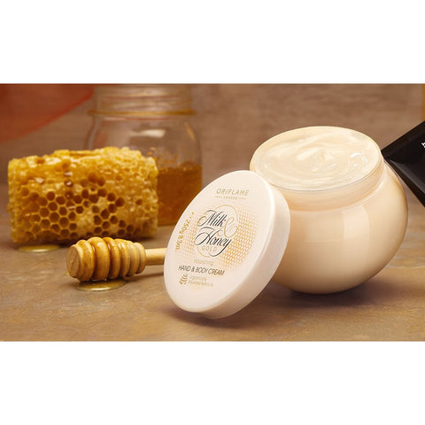 Oriflame Milk & Honey Gold nourishing Hand & Body Cream,