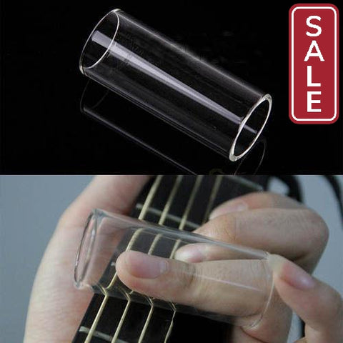SALE- 1 pc Guitar Glass Finger Tube New Electric String