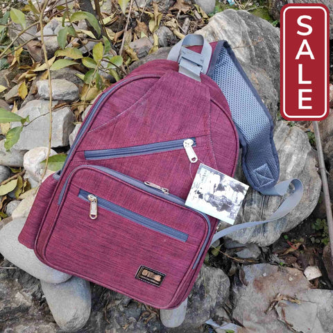 SALE- One Sided Fashion Bag For Men Marron
