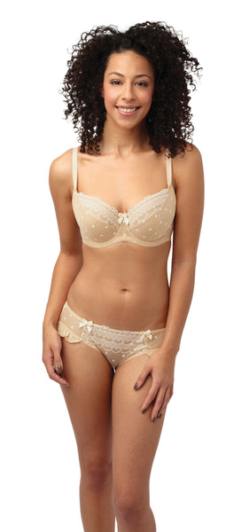 Cleo by Panache- Marcie Balconet Bra - Pinned Up