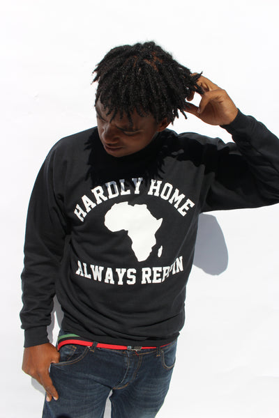 Hardly Home Sweatshirt (White Print)