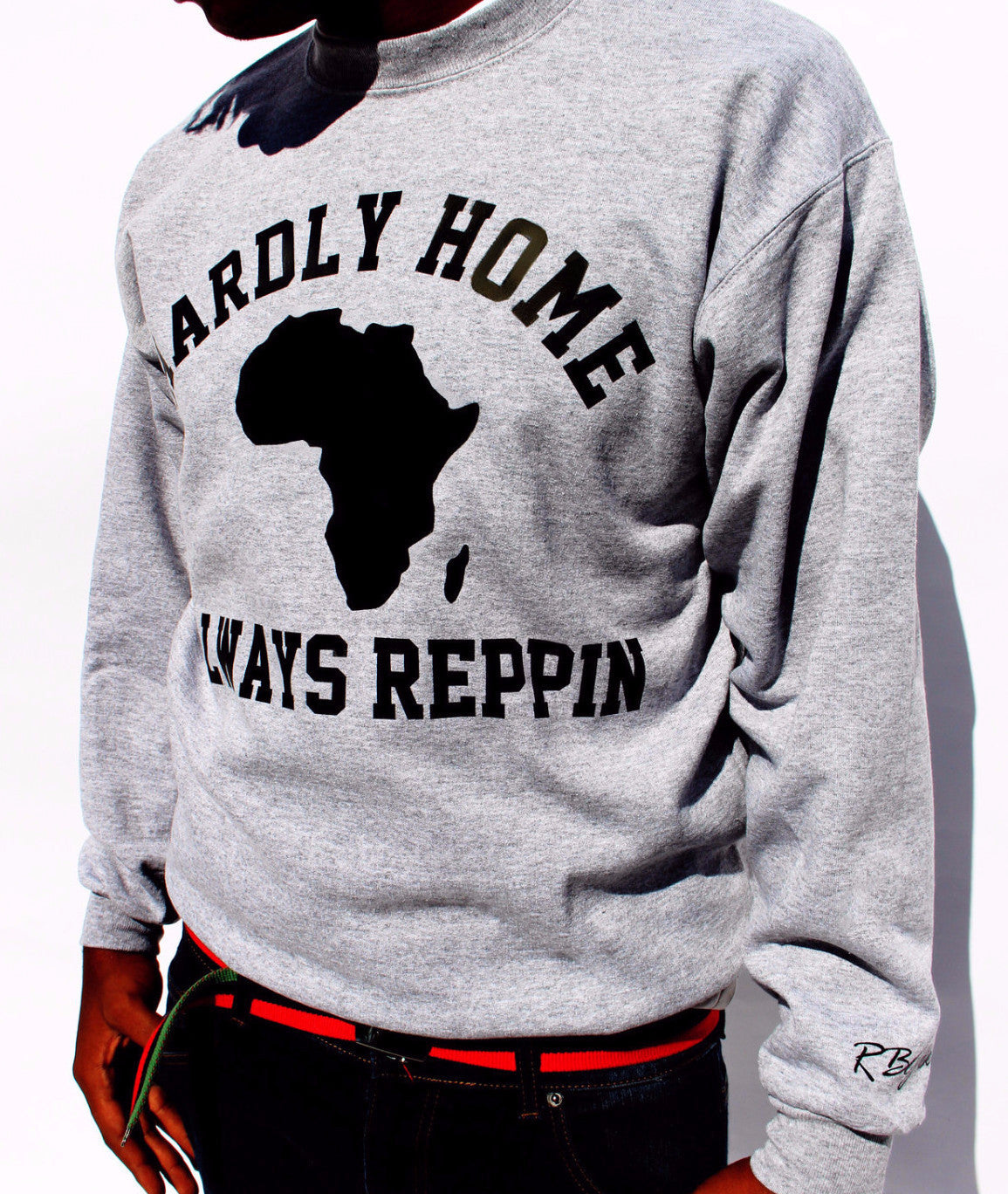 Hardly Home Sweatshirt (Black Print)