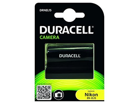 Duracell DRNEL15 Replacement Camera Battery for Nikon EN-EL15
