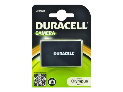 Duracell DR9902 Replacement Camera Battery for Olympus BLS-1