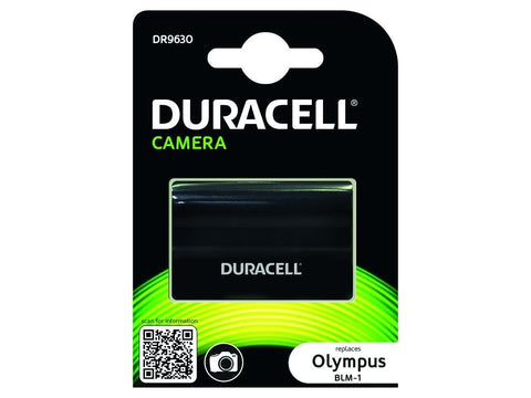 Duracell DR9630 Replacement Camera Battery for Olympus BLM-1