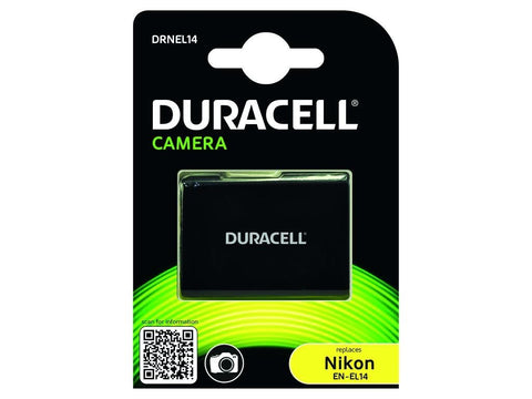 Duracell DRNEL14 Replacement Camera Battery for Nikon EN-EL14