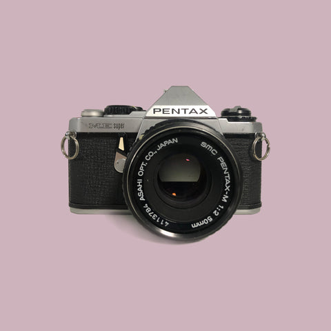 Pentax Me-Super with 50mm f/2 lens