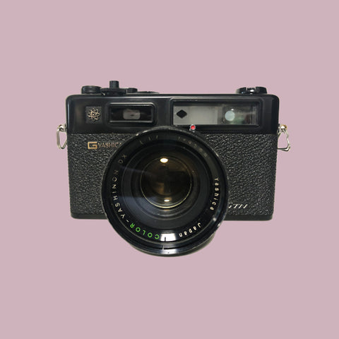 Yashica Electro 35 45mm Lens f/1.7 Black Body