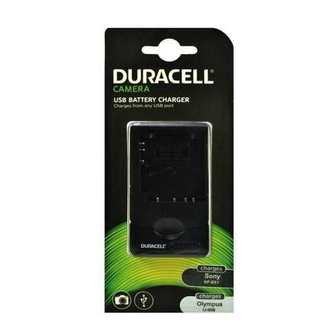 Duracell Sony NP-BX1or Olympus LI-90B Battery Charger