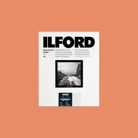 "Ilford MGIV RC Multigrade Pearl 8""x10"" (20.3cmx25.4cm) 25 Sheets"