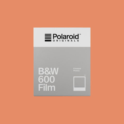 Polaroid Originals 600 Black & White Film