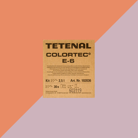 Tetenal Colortec E6 Developing Kit 2.5L