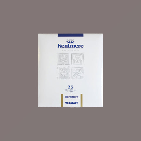 Kentmere VC Select 8x10 Fine Lustre 25 Sheets