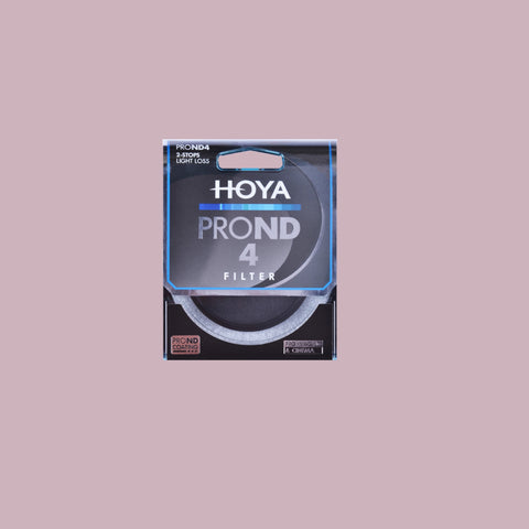 Hoya Pro ND4 62mm Filter