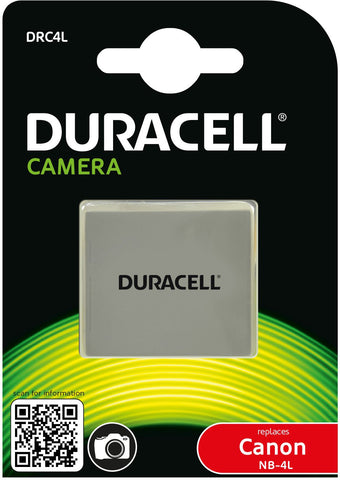 Duracell DRC4L Replacement Camera Battery For Canon NB-4L