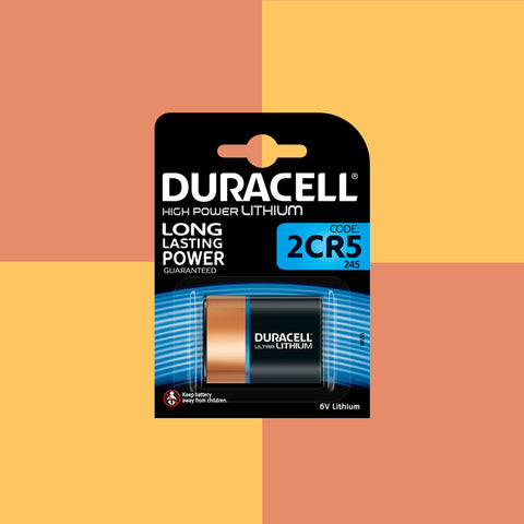 Duracell 245 2CR5 6V Lithium Battery