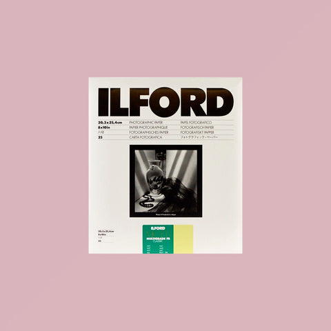 Ilford Multigrade FB Matt 8x10 25 Sheets