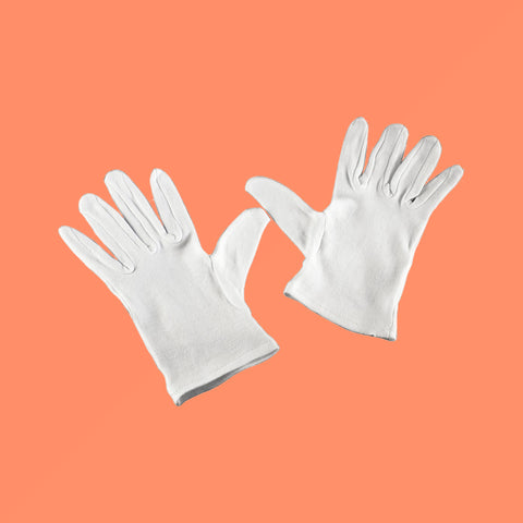 "Hama ""Studio"" Cotton Gloves, Size L"