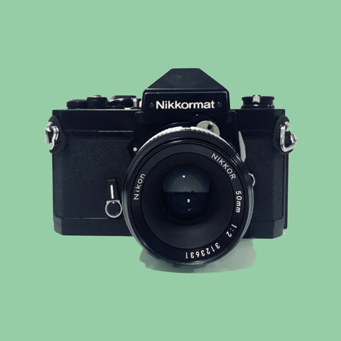 Nikkormat FT2 with  50mm f/2 Lens