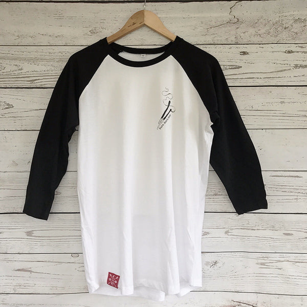 Burn Don't Fade Raglan